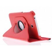 Rode 360° draaibare tablethoes voor de Samsung Galaxy Tab 3 7.0