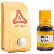 Al-Hayat - Black Musk - Concentrated Perfume - 12 ml