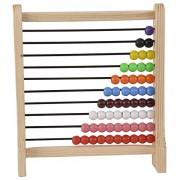 ABAJ Wooden Abacus Junior , Multi Color (1-10)