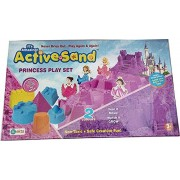 Art Box Princess Girls Castle Play Active Sand in a Beautiful Pack for birhthday Gift Or Childs Activity (600gm) by Gupta Fancy Toy Store