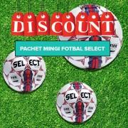 Pachet Mingi fotbal Select MATCH