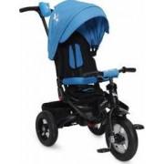 Tricicleta Copii Moni Jockey Albastru
