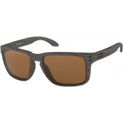 Oakley Holbrook XL Cykelglasögon woodgrain/prizm tungsten polarized 2019 Solglasögon