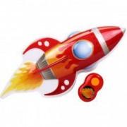 Lampa de veghe cu sunete Big Red Rocket cu telecomanda si 3 nivele de sunet si lumini