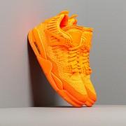 Air Jordan 4 Retro Flyknit Total Orange/ Total Orange-Total Orange