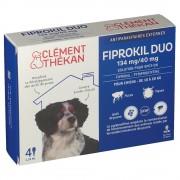 Clément Thékan Clément Thkan Fiprokil Duo 134 mg/40 mg 4 pc(s) 3595890226670