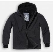 dzseki férfi téli Brandit - Manhattan - Black - 3104/2