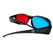 Anaglyph 3D Glasses Red/Cyan for for 3D Movies, Nvidia Geforce 3D Vision