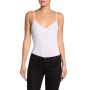 BCBGeneration Sleeveless Cami Knit Top OPTIC WHITE
