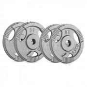 IP3H 15 kg Conjunto de Placas de Peso 2 x 2,50 kg + 2 x 5 kg 30 mm