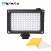 Ulanzi Mini LED Video Light Photo Verlichting Camerashoe dimbare LED Lamp voor Canon Nikon Sony Camcorder DV DSLR Youtube