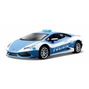 Lamborghini Huracan LP 610-4 Polizia Blue - Minimodel auto 1:32 Street Tuners