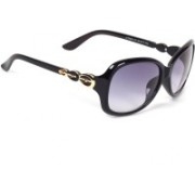 Eyeland Oval Sunglasses(Violet)