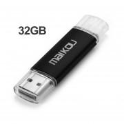 Colorido 32G Mobile OTG USB Flash Drive USB 2.0 Micro Memory Stick Pen