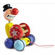 Vilac Grantoon The Clown Pull Toy