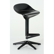 Replica Spoon Bar Stool - Black