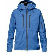 FjallRaven Keb Eco-Shell Jacket W - UN Blue - Vestes de Pluie M