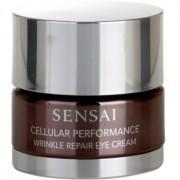 Sensai Cellular Performance Wrinkle Repair crema antiarrugas contorno de ojos 15 ml