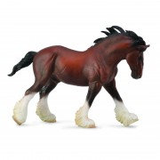 Figurina Armasar Clydesdale XL Collecta, 19.5 x 12.4 cm
