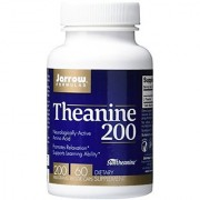 Jarrow Formulas Theanine 200 Promotes Relaxation 200 mg 60 Caps