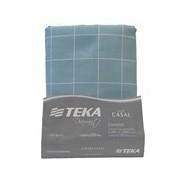 LENCOL C/ELASTICO 100% DIAMANTE CASAL 138X188 TEKA - VERDE
