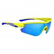 Salice 012 RW Mirror Sunglasses - Yellow/Blue