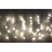 Perdea luminoasa tip turturi 240 LED-uri albe lumina calda interconectabila, WELL