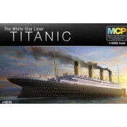 Academy 1/400th Scale The White Star Liner Titanic Plastic Model Kit #14215 By Academy Models