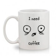 Caneca Café I Need Coffee