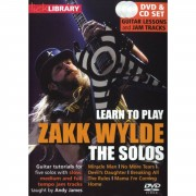 Roadrock International Lick Library: Learn To Play Zakk Wylde - The Solos DVD