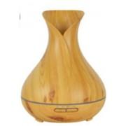Hidegpárásító készülék, tulipános világos fa-mintázatú 400 ml-es
