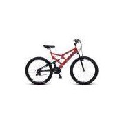 Bicicleta Colli Aro 26 Dupla Suspensão 36 Raias Freios V-Brake - 148