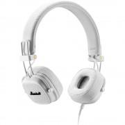 Casti Wireless Bluetooth Major III Over Ear, Microfon, Buton Control, Alb MARSHALL