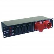 EuroLite SB-1000 CEE Distribuidor de potencia 16A