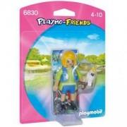 Комплект Плеймобил 6830 - Треньор на животни с какаду, Playmobil, 291232