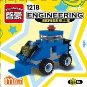 ENLIGHTEN Urban Construction Engineering Vehicles Model Building Blocks Compatible With Legoe DIY Assembling Bricks Kids Toys (1218)