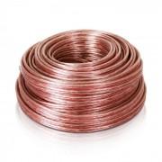 Auna Cable de altavoz 4x2,5mm² transparente 25m