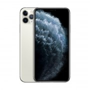 Apple iPhone 11 Pro Max 64GB - фабрично отключен (сребрист)