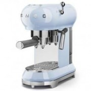 Smeg 50's Style Retro Espresso Coffee Machine Free Delivery - Pastel Blue