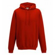 College Hoodie Fire Red