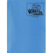 Monster Binder - 9 Pocket Trading Card Album - Matte Sky Blue Anti-theft Pockets Hold 360 Yugioh Pokemon Magic the Gathering Cards