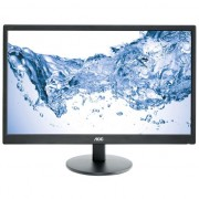 Monitor LED MVA AOC 23.6'', Wide, Full HD, DVI, Negru, M2470SWDA2