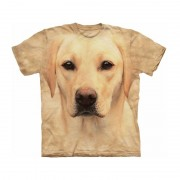 The Mountain Kinder honden T-shirt blonde Labrador