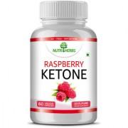 Nutriherbs Raspberry Ketone - Garcinia Cambogia Green Tea Extract - 60 Capsules
