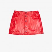 Adidas Kiss Mini Skirt For Women In Red - Size Wl