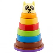 IndiPlay Babys First Blocks with Stack And Roll Cups & Brilliant Basics Rock a Stack