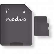Nedis 32GB MMSD32100BK microSDHC UHS-I CL10 memóriakártya + adapter