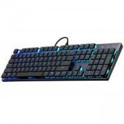 Геймърска механична клавиатура Cooler Master SK650 Cherry MX RGB Low Profile, CM-KEY-SK-650-GKLR1-US