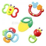 Alcoa Prime Auby Brand Baby Teether Rattle Toy Baby Teething Toy Infant Teether Toy