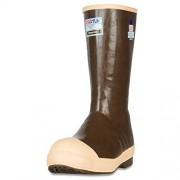 "XTRATUF Legacy Series 15"" Neoprene Steel Toe Insulated Men's Fishing Boots, Copper & Tan (22273G)"